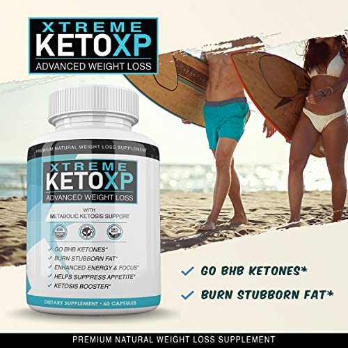 Keto XP Pills - 60 Count - BHB Ketones for Advanced Weight Loss - 1 Month Supply 4