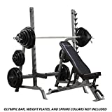 Ironcompany.com Body-Solid Commercial Bench/Squat Rack Combo Package