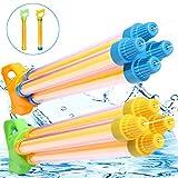 TNELTUEB Water Guns Super Water Blaster Soaker Gun Summer Fun Outdoor Swimming Pool Games Toys for Boys Girls Adults (2 Pack )