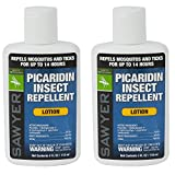 Sawyer Products SP5642 Premium Insect Repellent with 20% Picaridin, Lotion, Twin Pack, 4-Ounce