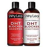 DHT Blocker Shampoo and Conditioner for Hair Loss, For Men & Women, Active Formula, Anti-Hair Loss Treatment, with Rosemary & Green Tea Extracts, for Thinning Hair & Hair Loss, Sulfate Free 16 oz.