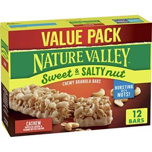 Nature Valley Granola Bars, Sweet & Salty Nut, Cashew, 12 ct, 14.8 oz