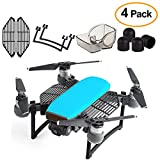 Kuuqa 4 Pcs Protection Accessories Kits Compatible with Spark, Including Landing Gear Extender, Gimbal Camera Guard Protector, Silica Gel Motor Guard Protective Cover, Finger Guard Hand Guard Dam-Boar