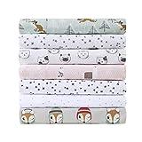 Intelligent Design Cozy Soft Cotton Novelty Print Flannel Sheet Set, Queen, Grey/Pink Cats