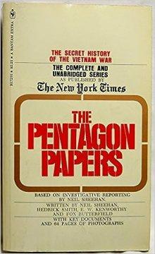 The Pentagon Papers: The Secret History of the Vietnam War: Neil Sheehan,  Herick Smith, E.W. Kenworthy, Fox Butterfield, Daniel Ellsberg:  9780553072556: Amazon.com: Books