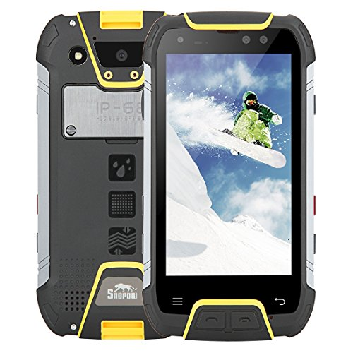 Snopow M10 6GB+64GB 5.0 inch Walkie Talkie Function 6500mAh Battery Android 7.0 MTK6757 Octa Core up to 2.4GHz WCDMA & GSM & FDD-LTE (Yellow)