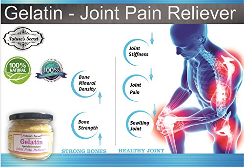 51WVy8DaS2L - Nature's Secret Gelatin Specially Formulated For Joint Pain Reliever -200Gm