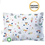 Toddler Pillowcase - 100% GOTS Certified Organic Cotton - Hypoallergenic Safe and Comfortable - No Harsh Chemicals on Your Toddler's Skin - Toys