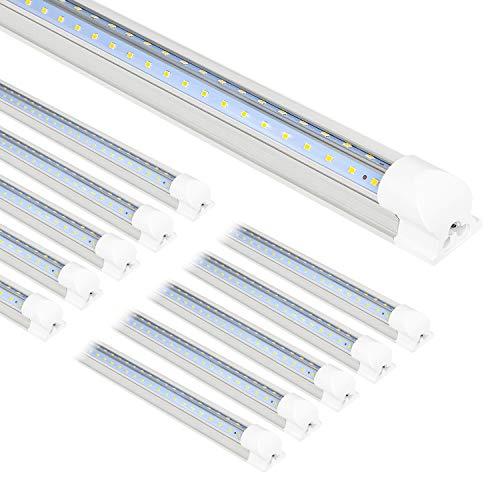 10-Pack-8FT-LED-Shop-Light-Fixture-80W-10000LM-LED-Tube-Light-5000K-Daylight-Linkable-Shop-Lights-8-Foot-T8-LED-Tube-Light-for-Garage-Warehouse-Workshop-Plug-and-Play-ETL-Listed