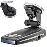 ChargerCity Car Dashboard & Windshield Suction Cup Mount Holder for Escort Passport 9500ix 9500i 8500 8500x50 S55 S75g Solo S2 S3 and Beltronics GX65 RX65 Vector 975 Radar Detectors ...
