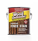 Wood Defender - Transparent Fence Stain- Cedar Tone- 1 Gallon