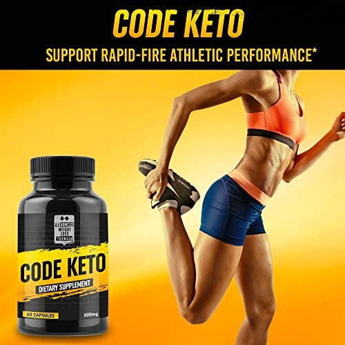 Keto Diet Pills - Best Ketosis Supplement for Women and Men - Code Keto - 60 Capsules 5