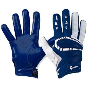 Cutters Gamer All Purpose Gloves, Navy, Adult 3X-Large