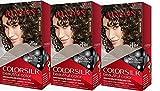 Revlon Colorsilk Beautiful Color, Dark Brown, 3 Count