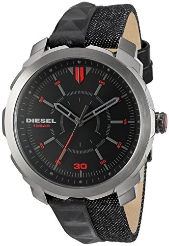 51Wv6qDtVtL Features a durable mineral crystal Diesel watches add that extra statement of bold, rebellious confidence Analog-quartz Movement