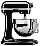 KitchenAid KL26M1XOB Professional 6-Qt. Bowl-Lift Stand Mixer - Onyx Black