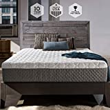 Sleep Innovations Taylor 12-inch Cooling Gel Memory Foam Mattress, Bed in a Box, Made in the USA, 10-Year Warranty - King Size