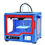 QIDI TECH X-one2 3D Printer Red-Blue Color Version 3D Printing Kit, Touch Screen 3D Printing Machine with Platform Heating