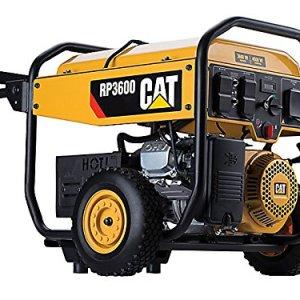 Cat Running Watts/4500 Starting Watts Gas Powered Portable Generator