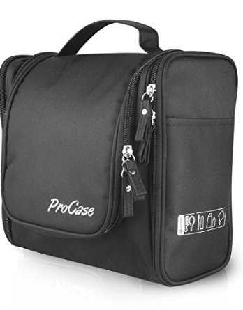 98ae4984f3 ProCase Large Toiletry Bag with Hanging Hook