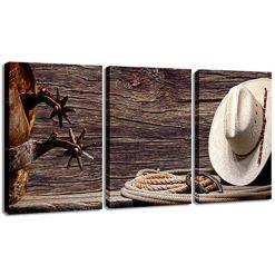 Cowboy Hat Rodeo Wall Art