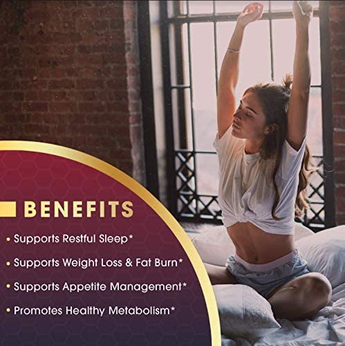 Keto Vida Weight Loss Fat Burner for Night Time to Suppress Appetite and Reduce Cravings; 30 Servings 5