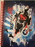 "DC Comics Superman Man of Steel Spiral Notebook ~ Hero in Flight (5"" x 7""; 100 Sheets, 200 Pages)"