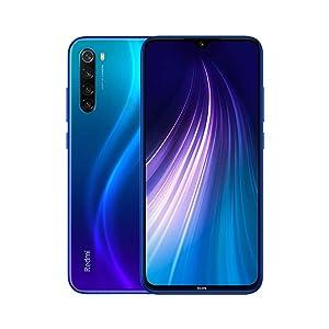 """Xiaomi Redmi Note 8 Smartphone,3G 32G Mobilephone,Pantalla Completa de 6.3 """",Procesador Snapdragon 665 Octa Core,4000 mAh,Quad Cámara(48MP + 8MP + 2MP + 2MP) Versión Global (Azul)"""
