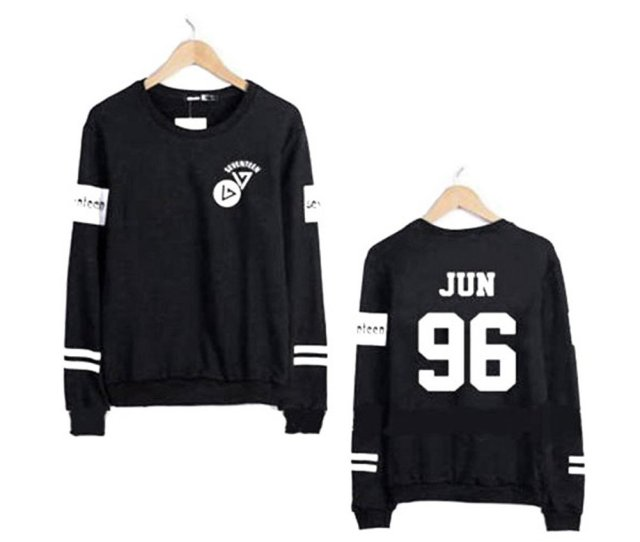 Seventeen 17 All Members Sweater Hoshi Woozi The8 Wonwoo Jeonghan Dk Sweatshirt Apparel