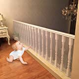 4UHeart Child Safety Net - 10ft x2.5ft, Rail Balcony Banister Stair Net Safety for Kids Toys Pets, Safe for Indoor, Outdoor, Patios or Balcony Use
