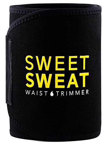Sports Research Sweet Sweat Premium Waist Trimmer, for Men & Women. Includes Free Sample of Sweet Sweat Gel!