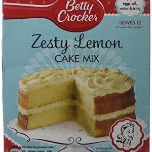 Betty Crocker Zesty Lemon Cake Mix 425g (Pack of 6) 51XBtrX735L