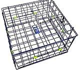 FTCDLX Crab Trap Fold-Up Square DLX, Blue, 24'
