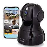 HD Wireless Surveillance IP Camera - 720p Network Security Indoor Home Video Monitoring WiFi Cam w/Motion Detection, Night Vision, PTZ, 2 Way Audio - for iPhone Android PC Mac - SereneLife IPCAMHD80