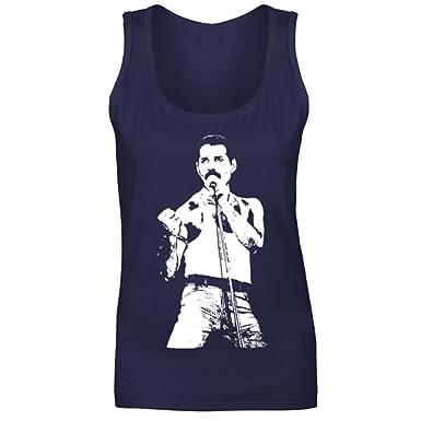Freddie Mercury at Live Aid tank top
