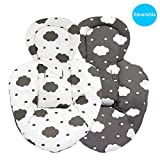 Hothuimin Infant Newborn Baby Insert Machine Washable, Cotton Fabric (Cloud)