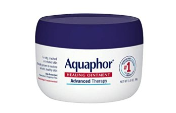 Aquaphor Advanced Therapy Healing Ointment Skin Protectant 3.5 Ounce Jar (Pack of 3)