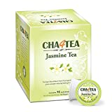 Cha4TEA 36-Count Jasmine Green Tea K Cups for Keurig K-Cups
