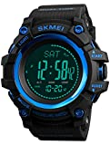 Mens Altimeter Barometer Compass Digital Outdoor Sports Watch Fitness Pedometer Activity Tracker