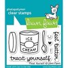 Lawn Fawn Treat Yourself Stamp Set