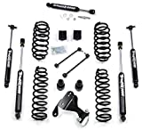 Teraflex Jeep Wrangler JK 4 Dr Unlimited 2.5' Suspension Lift With FREE Steering Stabilizer - Includes Teraflex Lift # 1251000 & Stabilizer # 1513001