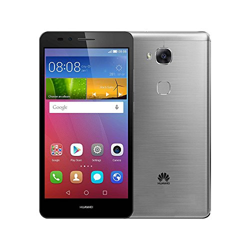 Huawei GR5 KII-L22 16GB 5.5-Inch 13MP 4G LTE Dual SIM Factory Unlocked - International Stock No Warranty (GRAY)