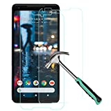 For Google Pixel 2 XL Screen Protector - [2 Pack] Google Pixel 2 Plus Tempered Glass Screen Protector Google Pixel 2XL Full Coverage Full body High Clear Film Anti Scratch Glass Protector Cover