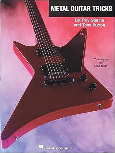 Amazon.com: Metal Guitar Tricks: Techniques for Lead Guitar ...
