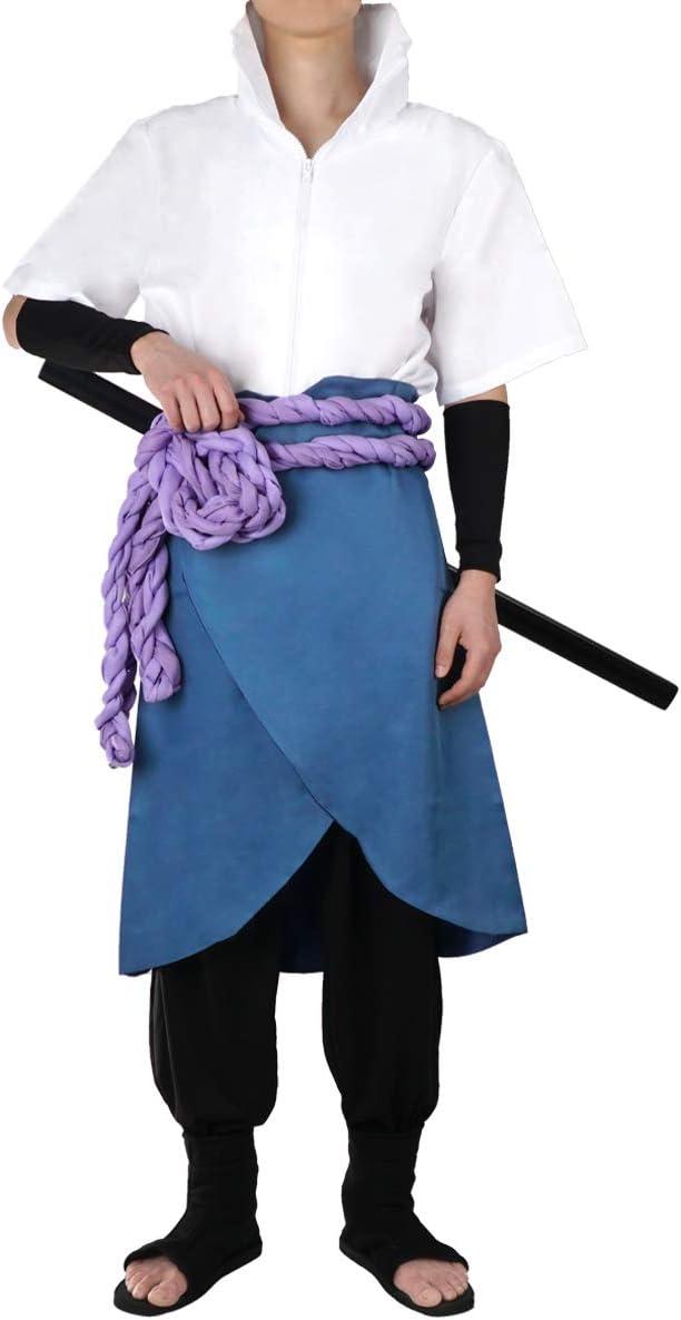 CoolChange Disfraz Cosplay de Sasuke Uchiha. Talla: S