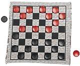 Multiflex Designs Jumbo Checker Rug Game