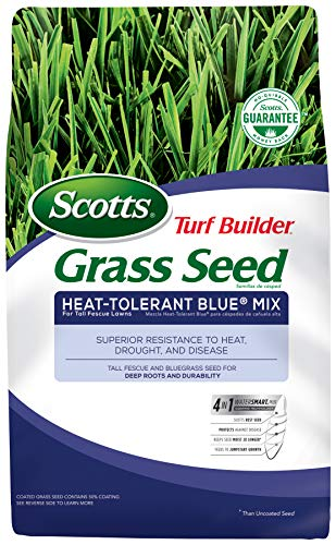 Scotts Turf Builder Grass Seed - Heat Tolerant Blue Mix, 3-Pound