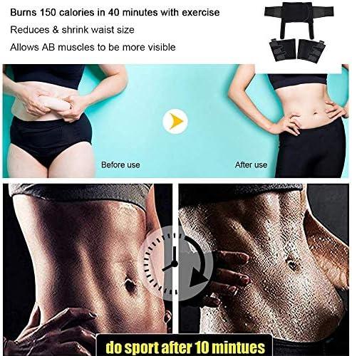DAWNDEW Waist Trainer for Women, 3-in-1 Waist and Thigh Trimmer Butt Lifter-Weight Loss Slimming Body Shaper Belt, Adjustable Hip Enhancer, Hips Belt Trimmer Body Shaper Workout Fitness Training 3