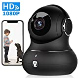 Pet Camera, Littlelf 1080P Indoor Wireless Home Security IP Surveillance Camera for Baby/Elder/Nanny Monitor with Motion Detection, 2-Way Audio, Manually Night Vision & Cloud Storage
