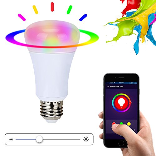 Xenon Wifi Smart LED Light Bulb, Smartphone Controlled Sunrise ...